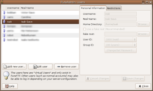 Image of the user-manager